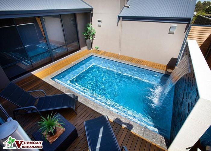 Sân Vườn Bể Bơi Trên Mái Nhà