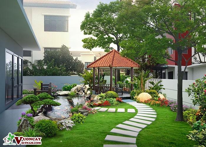 Tư Vấn Thiết Kế Sân Vườn Theo Kiến Trúc Á Đông