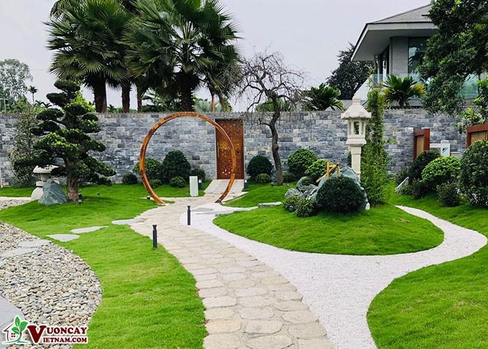 Nguyên Tắc Sân Vườn Nhật Bản Với Tỉ Lệ Thu Nhỏ